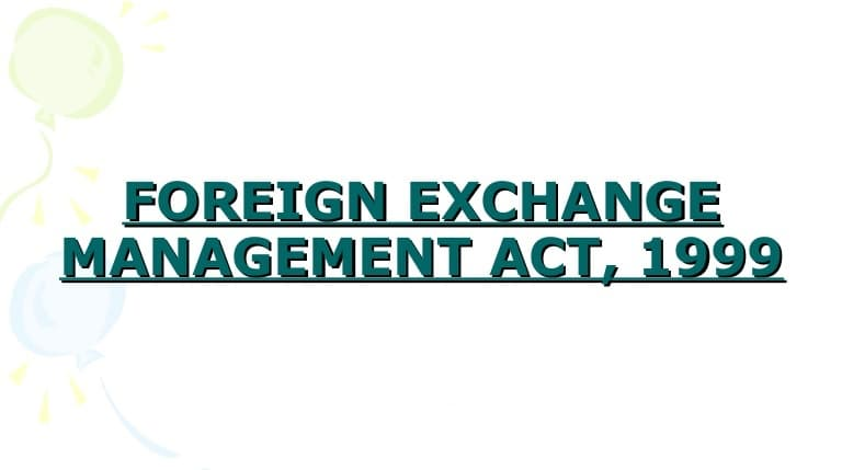 Compounding of Contraventions under the Foreign Exchange Management Act,1999